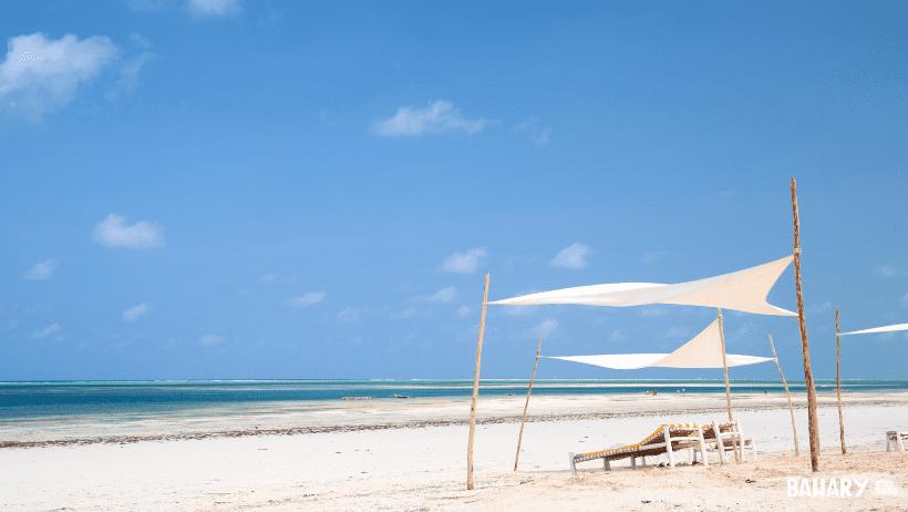 Playas exóticas de Zanzibar