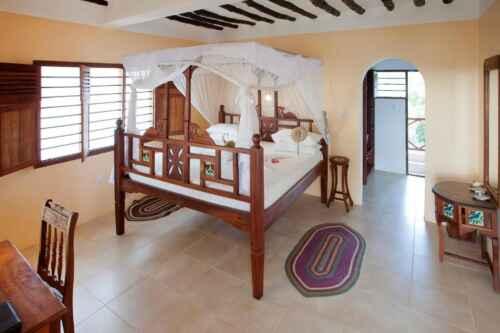 Hotel Jambiani habitacion