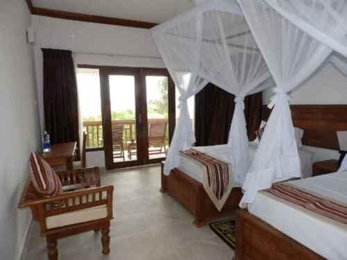 Habitación del hotel Baharivillas en Matemwe - Baharytravels