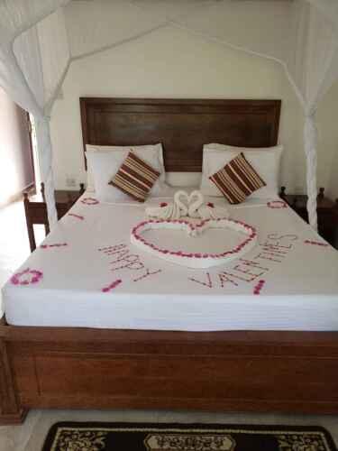 Habitación hotel bahari villas de matemwe - baharytravels