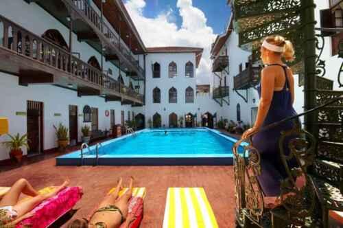 Hotel Tembo Stone Town Piscina Zanzibar