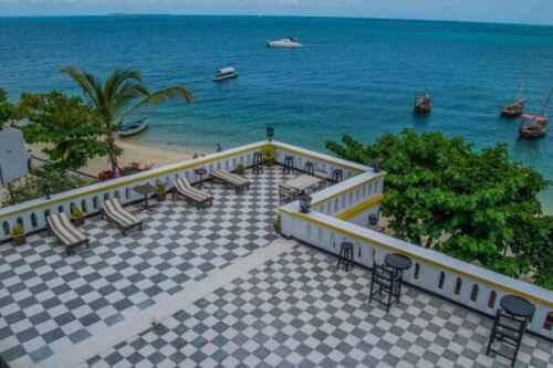 Hotel Tembo Stone Town terraza