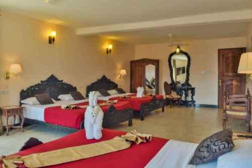 Hotel Tembo Stone Town habitación Zanzibar