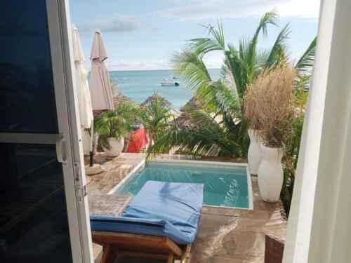 Jacuzzi Hotel Lazy Beach en Playa Kendwa Zanzibar